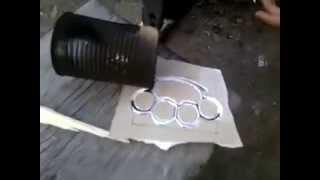 Как сделать кастет из свинца в домашних условиях/How to make brass knuckles