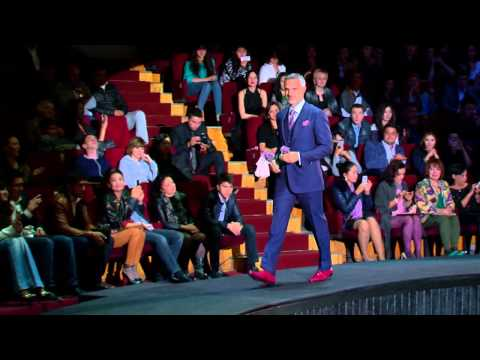 STEFANO RICCI Fashion Show at the Tashkent Circus in Uzbekistan