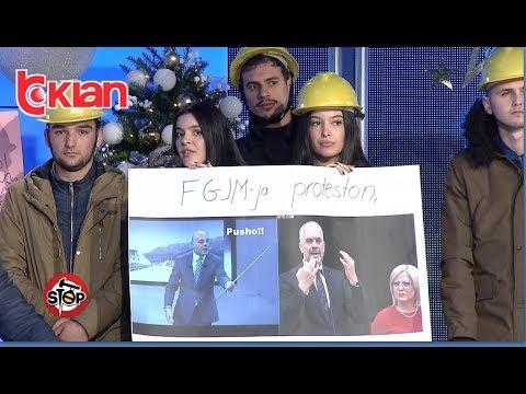 """Stop - Protesta ne """"Stop"""" dhe pirueta e qendrimeve te Rames! (11 dhjetor 2018)"""