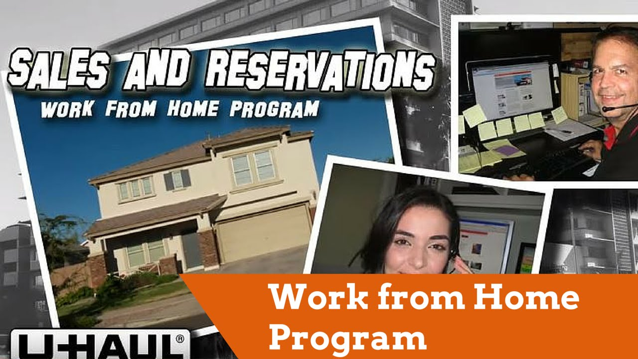Work from Home Program (U-Haul Sales and Reservations) - YouTube