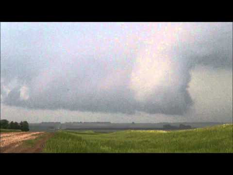 June 20,2013 Supercell South Of Napoleon, North Dakota