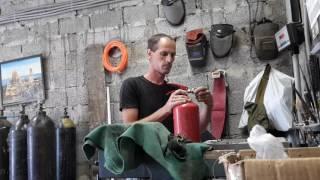 видео Перезарядка огнетушителей