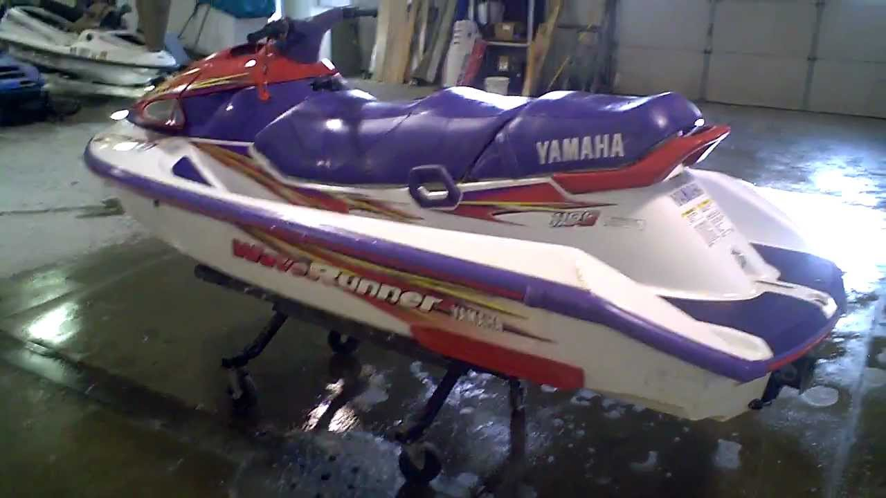 1997 Yamaha Wave Venture Waverunner 1100 Triple LOT 1006A