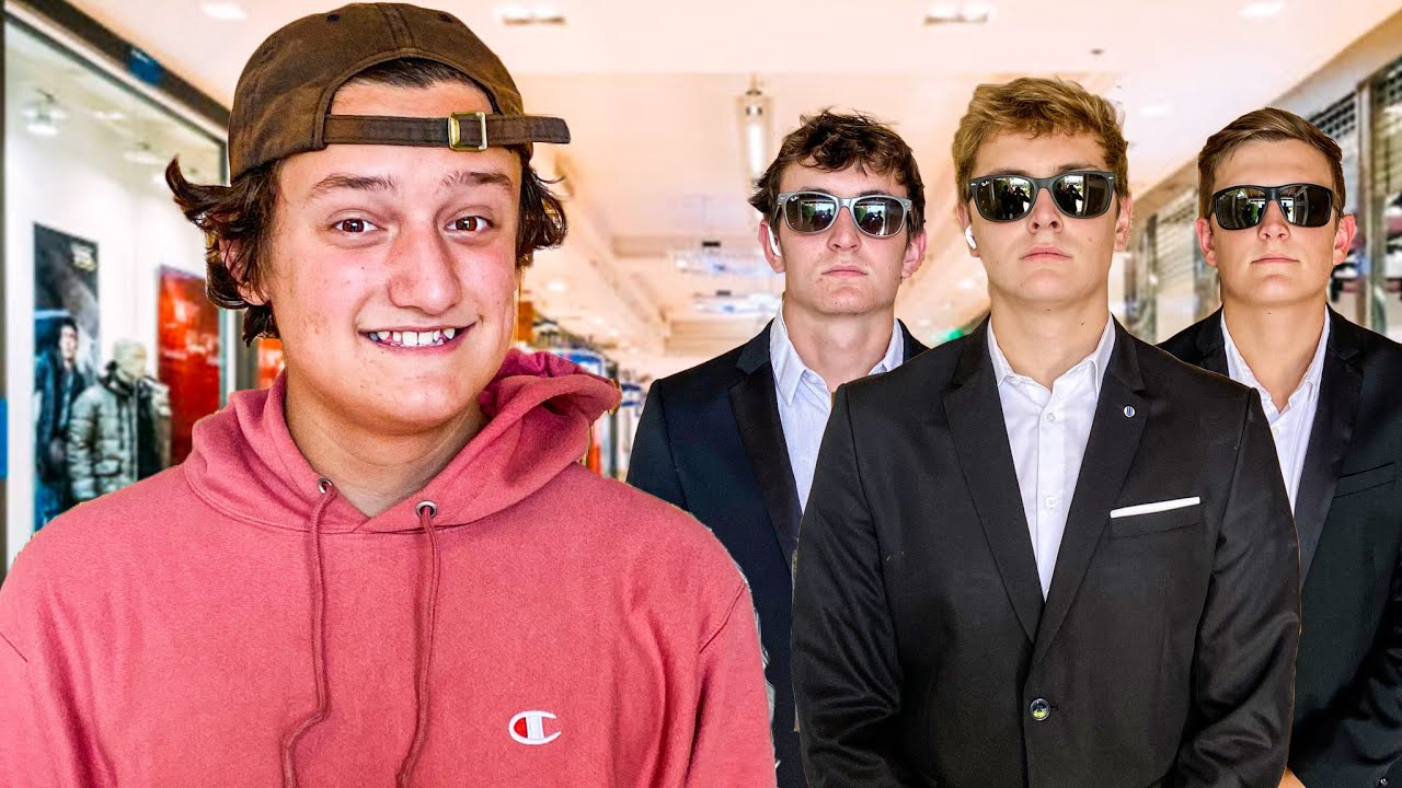 Being Little Brother's Bodyguards for a Day