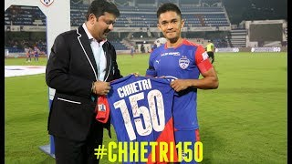 #Chhetri150 | Sunil Chhetri played 150 matches for Bengaluru FC