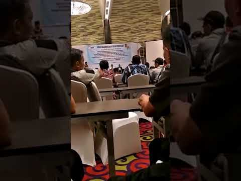 Beredar Video Mustafa Diduga Hadiri Bimtek Kades Se-Lampung Utara