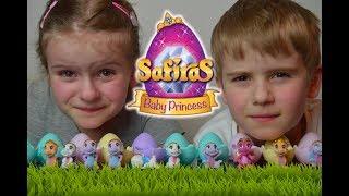 Otwieramy Smocze Jajka Safiras Baby Princess - unboxing - Simba Toys