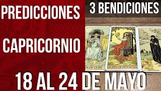 CAPRICORNIO! TU MADRE TE DA LA BENDICION Horóscopo Semanal Tarot