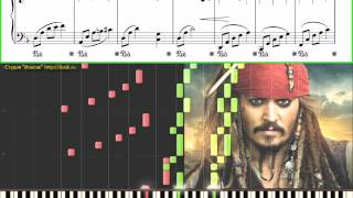 Pirates of the Caribbean (Ноты для фортепиано) (piano cover)
