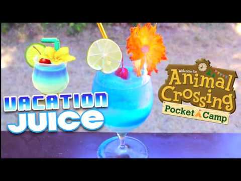 How To Make Vacation Juice From Animal Crossing Pocket Camp Youtube