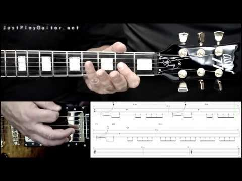 [ AVENGED SEVENFOLD - Nightmare ] how to play part 2/2 [ free guitar lesson ] with tabs