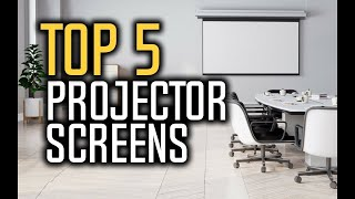 Best Projector Screens in 2018 - Which Is The Best Projector Screen? | 10BestOnes