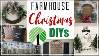 DIY DOLLAR TREE FARMHOUSE CHRISTMAS Decor 2019   Dollar Tree Christmas DIYs   Momma From Scratch