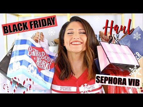BLACK FRIDAY I SEPHORA I HOLIDAY HAUL! thumbnail