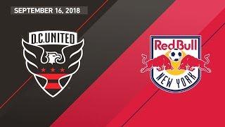 HIGHLIGHTS: D.C. United vs. New York Red Bulls | September 16, 2018