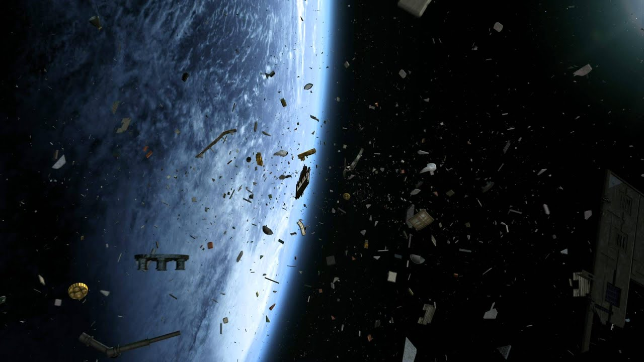 Space junk 3d youtube for What is space