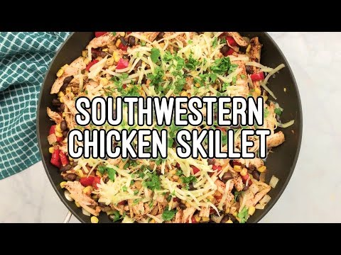 Easy Southwestern Chicken Casserole