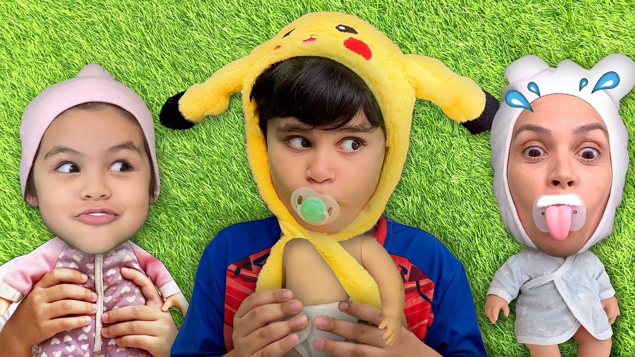 Brincando com Bebês pela Primeira, Segunda e Terceira Vez (TODOS OS EPISÓDIOS)