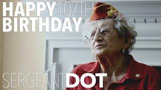 Happy Birthday, Sergeant Dot!