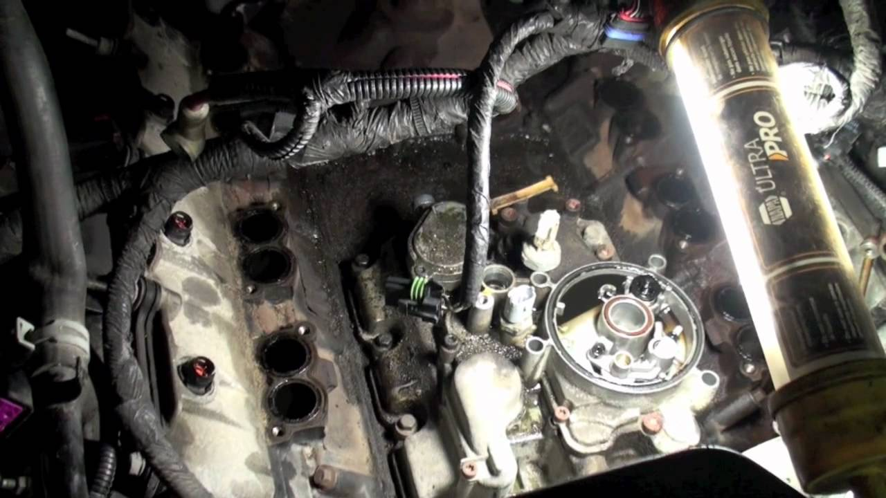 6 0l egr cooler oil cooler replacement