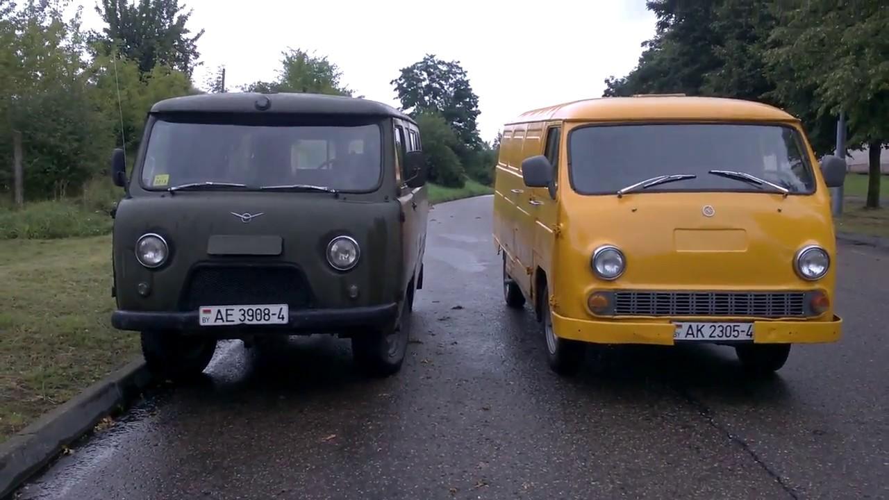 МИРовой влог: ранний УАЗ-452 и  ЕрАЗ-762