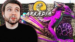 ARKADIA - CRIAMOS A NUESTRO DRAGON!