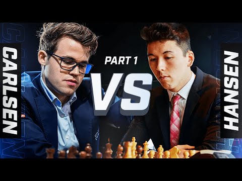 MAGNUS CARLSEN VS ERIC HANSEN: Part 1