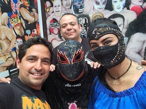+Lucha con Lady Shani, en Taquería Chabelo (Abril 2018)