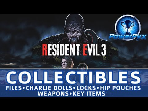 Resident Evil 3 Remake All Collectible Locations (Files, Charlie Dolls, Locks, Safes, Key Items)