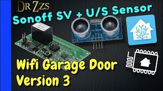 Gambar cover Add Wifi Control to your Garage Opener using Sonoff SV, ESPhome, and Home Assistant