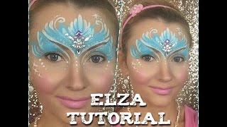 Eiskönigin schminken | ❄️Elsa schminken | Prinzessin schminken | Kinderschminken