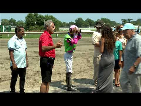 video thumbnail for MONMOUTH PARK 7-27-19 RACE 4