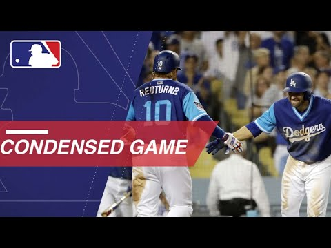 Condensed Game: SD@LAD  82418