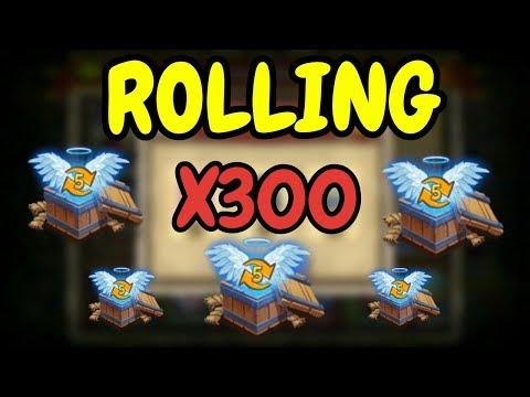 Rolling 300 Level 5 Talent Chest L Castle Clash