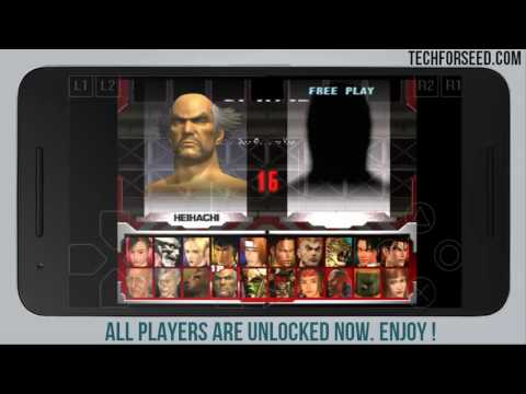 How to Unlock All Players in tekken 3 on Android | Techforseed