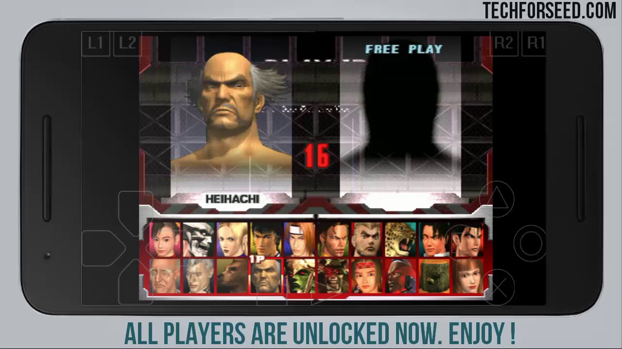 How To Unlock All Players In Tekken 3 On Android Techforseed