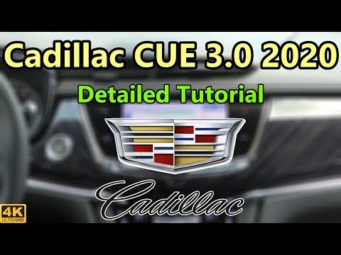 Cadillac CUE 3.0 (2020) Detailed Tutorial and Review: Tech Help