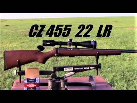 CZ 455 .22 LR    Watch the Bullets Fly.