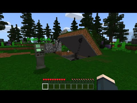 HOW TO BUILD A SECRET MILITARY BUNKER In Minecraft