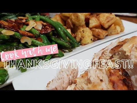 COOK WITH ME | Thanksgiving Dinner | Thanksgiving In Australia
