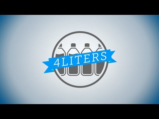 Take The #4Liters Challenge
