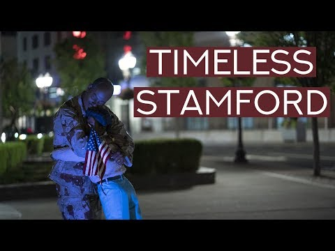 STAMFORD CT - Exploring The City And Artwork By Seward Johnson