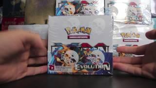 opening pokemon xy evolution booster box display nr 1 part 1 evolutions deutsch german