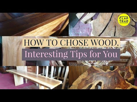 HOW TO CHOSE WOOD FOR FURNITURE | WOODEN FURNITURE DIY