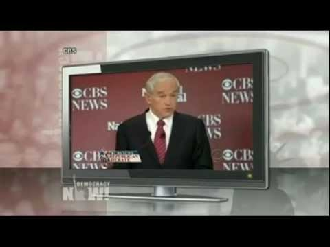 DemocracyNOW supporting RON PAUL 2012