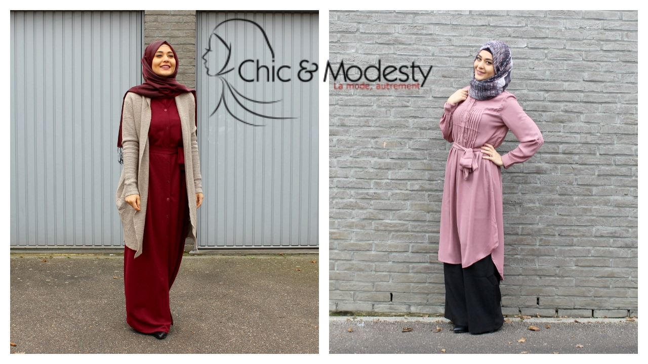 2 Looks Hijab Feat Chic Modesty Muslim Queens By Mona