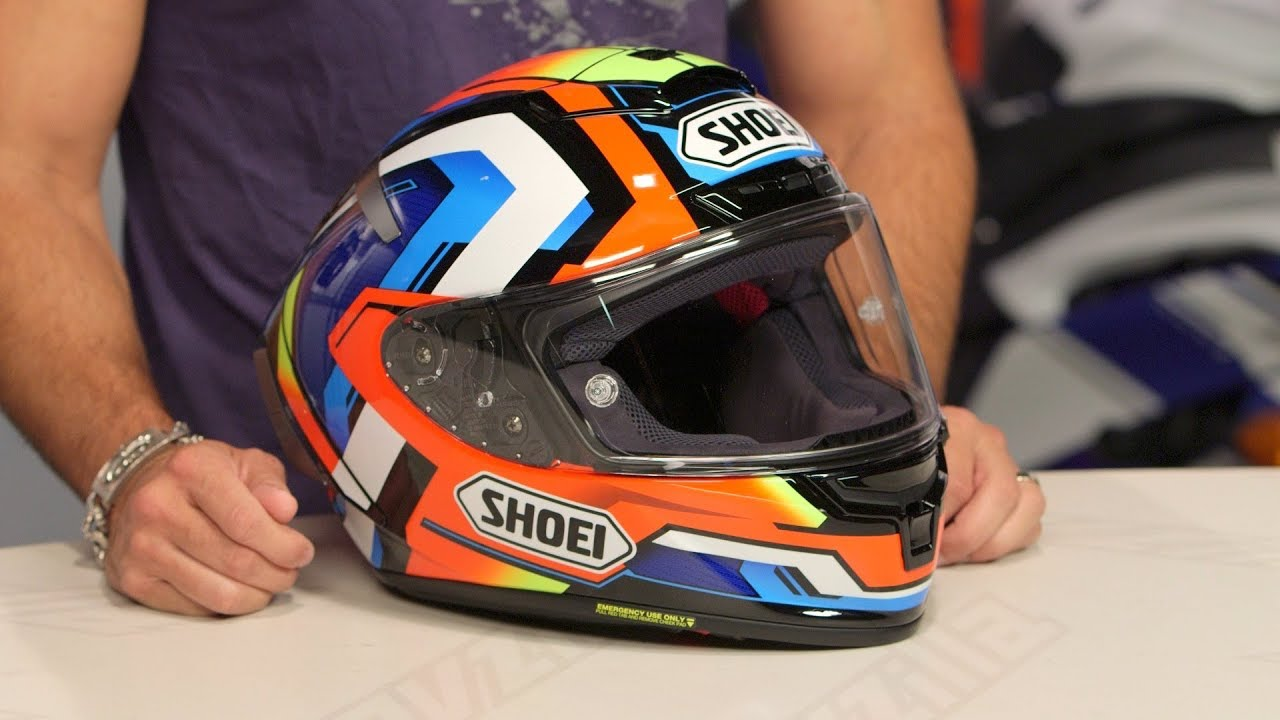 fa2f2f92ee7 Shoei X-14 Brink Helmet Review at RevZilla.com - YouTube