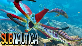Subnautica - FEED THE REAPER, CAGE THE REEFBACK - Creature Testing Gameplay 1080p HD