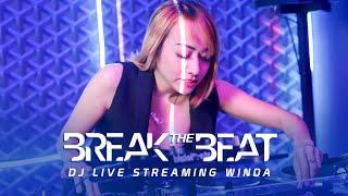 """DJ BREAKBEAT WINDA """" BREAK THE BEAT """"- LIVE STUDIO 2 MATALELAKI 14/11/2019  ( BREAKBEAT)"""