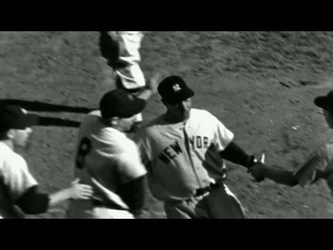1951WS Gm4: DiMaggio